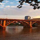 Broadway Bridge at Little Rock by Lisa G. Putman