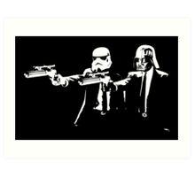 """Darth Vader - Say """"What"""" Again! Version 3 Art Print"""