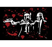 "Darth Vader - Say ""What"" Again! Version 1 (Blood Splatter) Photographic Print"
