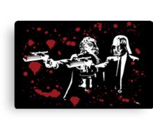 "Darth Vader - Say ""What"" Again! Version 2 (Blood Splatter) Canvas Print"