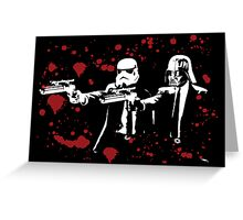 "Darth Vader - Say ""What"" Again! Version 3 (Blood Splatter) Greeting Card"