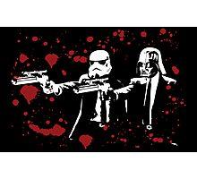 "Darth Vader - Say ""What"" Again! Version 3 (Blood Splatter) Photographic Print"