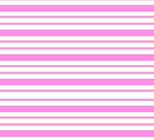 Lindas Lineas Horizontales  color Rosa by newcris