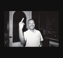 MLK Flipping Off Camera by jimstation