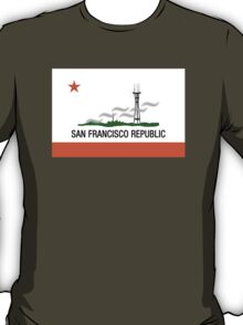 San Francisco Republic (with Karl The Fog) T-Shirt