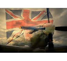Grace Spitfire ML407 Photographic Print