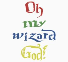 Oh My Wizard God! - House Colours by Katie Bloom
