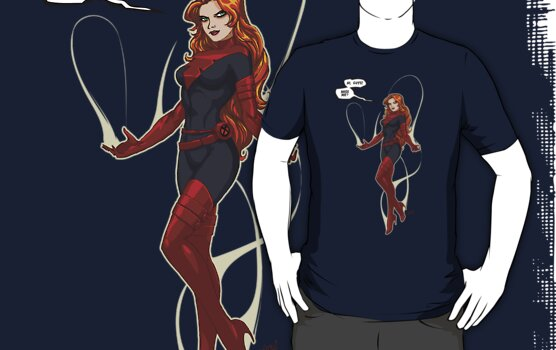 Phoenix (Jean Grey) black/red by NDVs