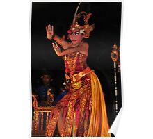 Balinese dancer 2 Poster