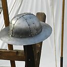 Medieval Riveted Iron Helmet by ivDAnu