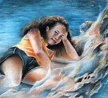 Young Tahitian Mermaid by Goodaboom