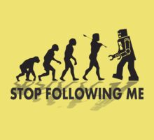 Stop following me by d1bee