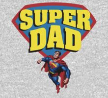 Super Dad T-Shirts & Hoodies by incetelso