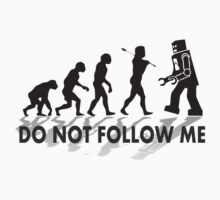 Do not follow me by d1bee