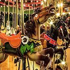 Tuscora Park Carousel iPhone Case by Andy Donaldson