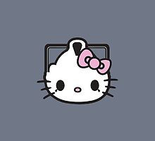 Cyber Kitty - iPhone / iPod / iPad Case by Moovian