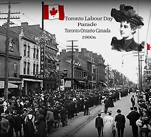 ▂ ▃ ▅ ▆ █ LABOUR DAY PARADE 1900s TORONTO ONTARIO CANADA █ ▆ ▅ ▃ by ✿✿ Bonita ✿✿ ђєℓℓσ