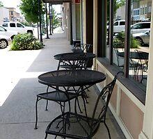 Dining On Main Street by WildestArt
