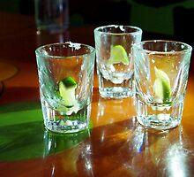 Empty Tequila Shots by Jenna Boettger Boring