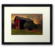 """"""" Sitting With Silence """"  Framed Print"""