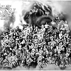 "Riot City Wrestling ""Group Photo"" by GUNHOUND"