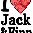 I Heart Jack and Finn by stuff4fans
