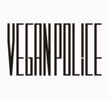 Vegan Police by HelloSteffy