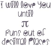 Never ending pi love by uberfrau