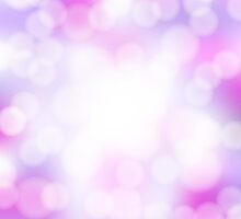 abstract pink bokeh background by Ghen