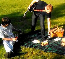 Remi Weston Breaking Up A Picnic by Jussi Lovewell