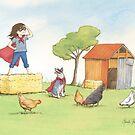 Supergirl by Amanda Francey