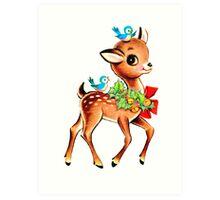 Christmas! Oh deer! Art Print