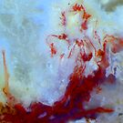 Red Mermaid (Moss Agate) by Stephanie Bateman-Graham