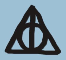 Deathly Hallows on Parchment Kids Clothes