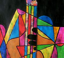 Playing the Bass by George Hunter