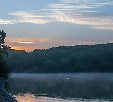 A New Day At Jumbles Reservoir. by Dave Staton