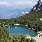 Benit lake in the french Alps by Patrick Morand