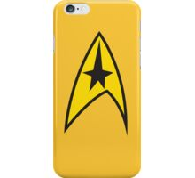 Star Trek TOS Command Uniform Tee iPhone Case/Skin
