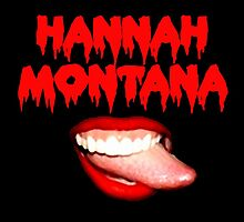 Rocky Horror Hannah Cyrus Inappropriate Tongue digital by justin13art