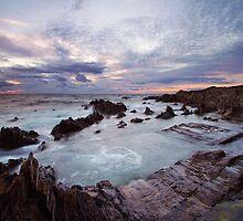 Barricane Beach Ship Wrecker Rocks - North Devon by Gareth Spiller