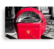 Positive Change Canvas Print