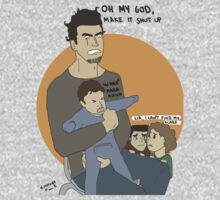 Uncle Peter Babysitting by bananana
