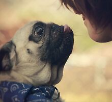Pug Love by eklfoto