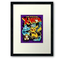 X-Mon Framed Print