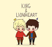 King and Lionheart by lilybells36