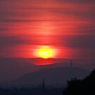wallaces sunset by joak