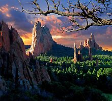 Morning Light At The Garden Of The Gods by pilgrims492003