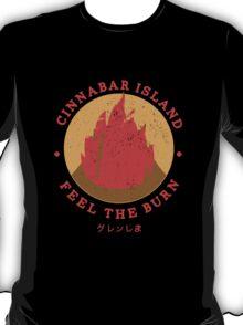 Cinnabar Island Gym T-Shirt