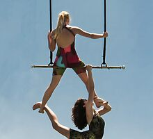 Trapeze Duo by heatherfriedman