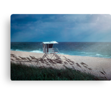 Morning on the Beach Canvas Print